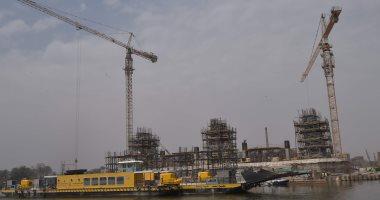 شركة المقاولون العرب تنفذ مشروع طريق بديل للطريق الدولى الاسكندرية مطروح
