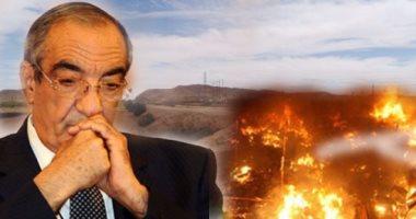 النيابة تشكل لجنة لحصر خسائر حريق مزرعة زكريا عزمى فى أسوان