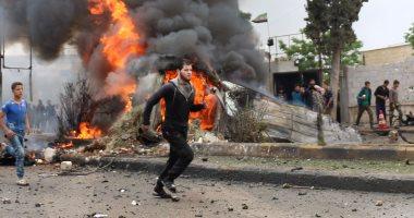 انفجار بالقرب من كنيسة السيدة العذراء وسط القامشلى فى سوريا