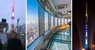 """بالصور.. """"اليوم السابع"""" داخل أعلى برج إذاعة وتليفزيون روسى فى أوروبا.. برج """"أوستانكينو"""" ثامن أعلى الأبراج فى العالم بارتفاع 540 مترا.. شيدته الحكومة السوفيتية عام 1936 ومزود بمصاعد فائقة السرعة"""