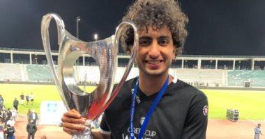 عمرو وردة يحمل كأس اليونان