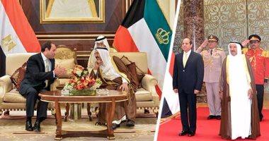 السيسي يلتقى اليوم وزير خارجية الكويت ويتسلم رسالة من الشيخ صباح الأحمد