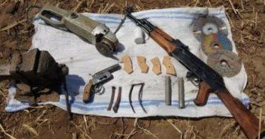 ضبط 4 أسلحة نارية وتحرير 1250 مخالفة مرورية فى كفر الشيخ