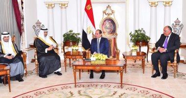 السيسى يختتم اليوم زيارته للكويت بلقاء أعضاء مجلس التعاون الاقتصادى