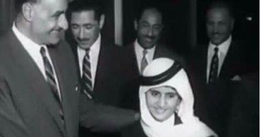 محمد بن راشد ينشر صورة نادرة من طفولته مع الرئيس جمال عبد الناصر
