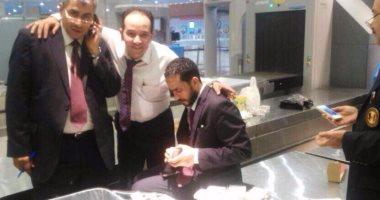 بالصور.. ضبط راكب قادم من إيطاليا حاول تهريب أدوية بـ700 ألف جنيه