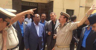 مدير أمن الغربية يتفقد خدمات قوات الأمن ويشدد على الاهتمام بعمليات التدريب
