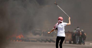 بالصور.. قوات الاحتلال تطلق الغاز المسيل على مظاهرة لإحياء ذكرى النكبة