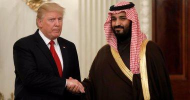 ترامب يجرى مكالمة هاتفية مع ولى العهد السعودى محمد بن سلمان