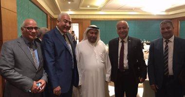 رئيس جامعة مدينة السادات يشارك فى إحتفالات تخرج طلاب السفارة الكويتية