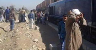 النيابة تطلب تقرير مفتش الصحة حول وفاة شاب صدمه قطار فى أبو النمرس