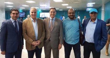 نجم ليبيا السابق يستقبل مسئولى الزمالك فى تونس