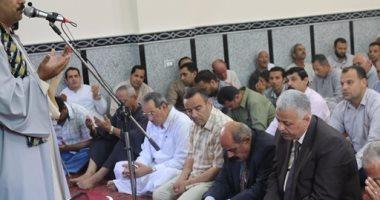 بالصور .. افتتاح مسجدى