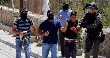 بالصور.. إصابة 7 فلسطينيين بالرصاص فى مواجهات مع الاحتلال برام الله
