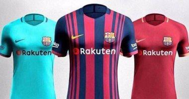 قميص برشلونة الجديد يظهر بدون اسم قطر لأول مرة منذ 5 سنوات