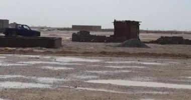 بالصور.. سقوط أمطار غزيرة بحلايب وشلاتين جنوب البحر الأحمر