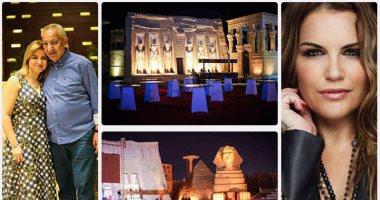 بالصور.. عائلة رونالدو يشاركون فى افتتاح أكبر مشروع ترفيهى بشرم الشيخ