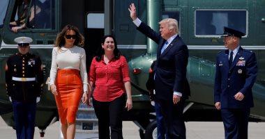 بالفيديو والصور.. ترامب يغادر إلى الرياض فى مستهل جولته الخارجية