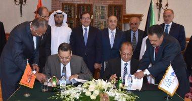 وزير البترول يشهد توقيع اتفاق بين سوميد وبنك الكويت الوطنى بقيمة 300 مليون دولار