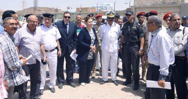 بالصور .. محافظ الإسكندرية : إسترداد مليون متر مربع من أراضى أملاك الدولة