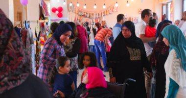 """بالصور..نجاح معرض """"رمضان جانا"""" فى توفير السلع بأسعار مخفضة بكفرالشيخ"""