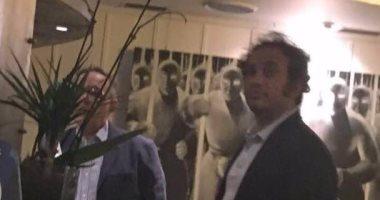 بالصور.. حمزاوى وخالد على و 9 نشطاء فى اجتماع سرى بإيطاليا لمهاجمة مصر