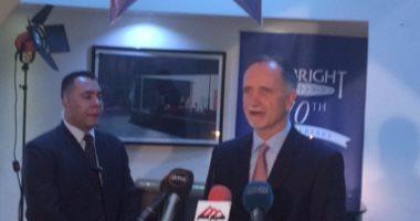 السفير الأمريكى: لم يتحدد موعد زيارة ترامب لمصر وعلاقاته بالسيسى وطيدة