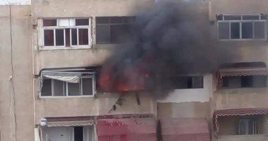 إصابة 4 أشخاص بسبب حريق داخل شقة سكنية فى مصر القديمة