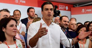 بالصور.. بيدرو سانشيز يفوز برئاسة الحزب الاشتراكى الإسبانى