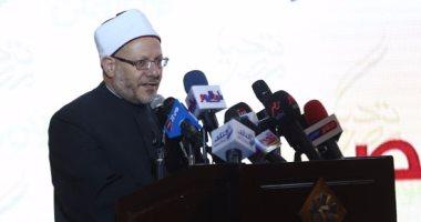 المفتى مهنئا الرئيس السيسى بذكرى ثورة 23 يوليو: الجيش المصرى درع الوطن -