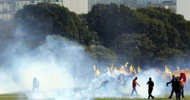 جانب من الاحتجاجات