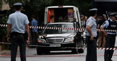 إصابة شرطيين يونانيين فى هجوم على مركز للشرطة فى أثينا