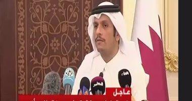 وزير الخارجية القطرى: إيران توفر لنا ممرات طيران آمنة