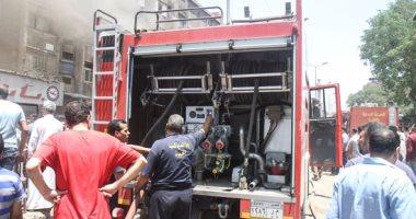 اشتعال النيران فى جراج سيارات بمبنى ماسبيرو واﻹطفاء تحاول السيطرة