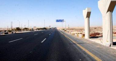تعزيز الخدمات بمحيط أعمال إنشاء كوبرى مشاة بطريق إسكندرية الزراعى لمنع الزحام