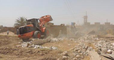 ضبط 12 شخصًا اعترضوا قوات الأمن أثناء إزالة تعديات على الأراضى بالشرقية