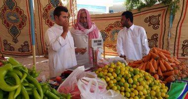 بالصور.. تموين مطروح: تجهيز المعرض اللوجيستى للخضر والفاكهة للافتتاح قريبًا