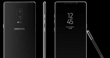 سامسونج تتراجع عن دعم هاتف نوت 8 ببصمة الإصبع بالشاشة الرئيسية