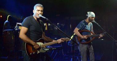 حفل غنائى لفرقة وسط البلد بالمهرجان الصيفى فى الإسكندرية 26 يوليو