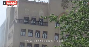 بالفيديو.. أول مشهد لسفارة قطر بالقاهرة بعد قطع علاقات مصر مع الدوحة -  اليوم السابع