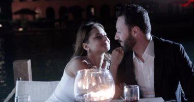 """بالفيديو.. رقص نيللى كريم مع أحمد فهمى يشعل النار فى قلب زينة بـ""""لأعلى سعر"""""""