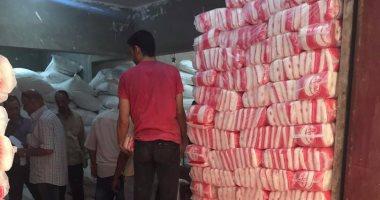 شرطة التموين تلاحق الغشاشين.. ضبطت 10 طن سكر مجهول المصدر فى المطرية