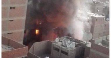 السيطرة على حريق داخل شقة سكنية فى الشيخ زايد دون إصابات