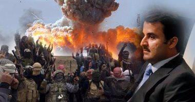 تميم بن حمد أمير قطر و مسلحين