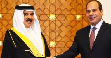 السيسي وملك البحرين يبحثان هاتفياً القضايا العربية والأوضاع الإقليمية