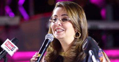 """وزيرة التضامن: """"اليوم السابع"""" إعلام تنموى مهنى وأتمنى له مزيدًا من التألق"""