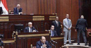 """ممثل القوات المسلحة أمام البرلمان : مفيش نقطة دم واحده سالت علي """"تيران وصنافير"""""""