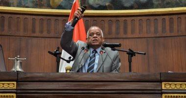 رئيس البرلمان بعدم الخروج عن مناقشات مواد القوانين حتى لا يعرضه لعوار دستورى