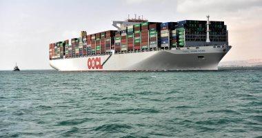 قناة السويس تحقق أعلى معدل عبور فى تاريخها بمرور 74سفينة خلال 24ساعة -