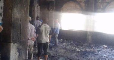 السيطرة على حريق بمبنى تحت الإنشاء ملحق بمول العرب فى أكتوبر